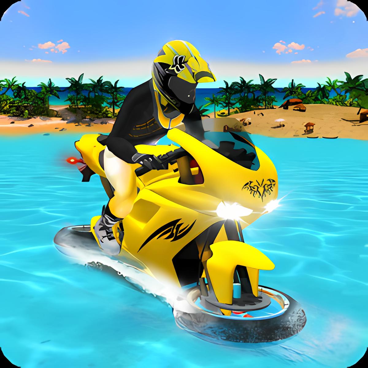 Water Surfer Motorbike Racer 1.0