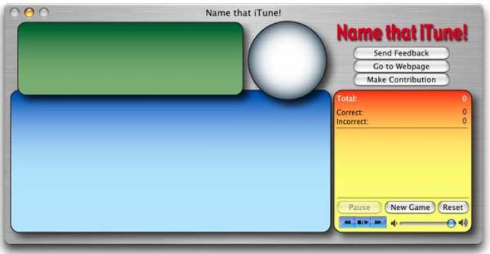 Name that iTune!