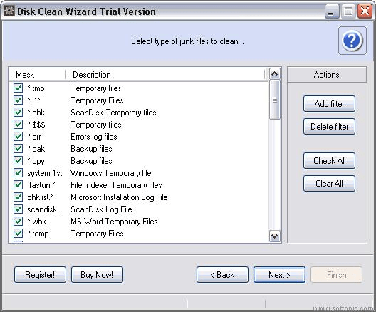 Disk Clean Wizard