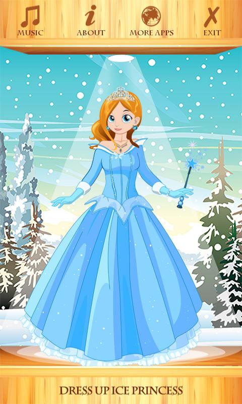Dress Up Ice Princess
