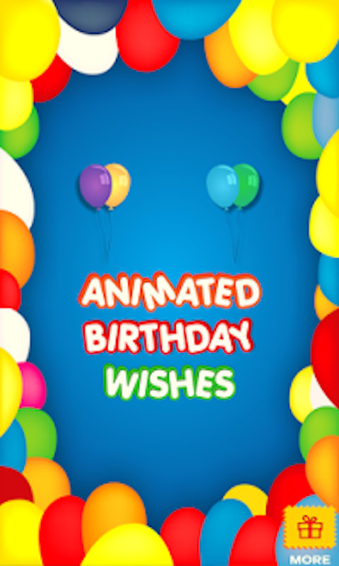 Animated Birthday Emoji