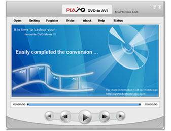 Plato DVD to AVI Converter