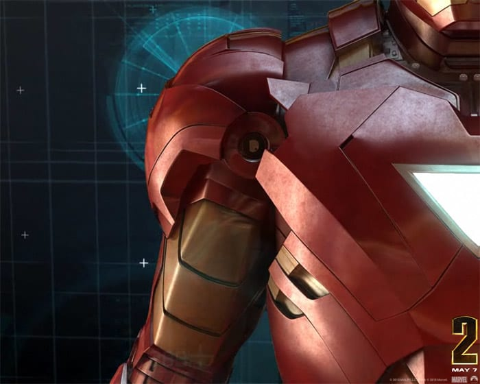 Iron Man 2 Screensaver