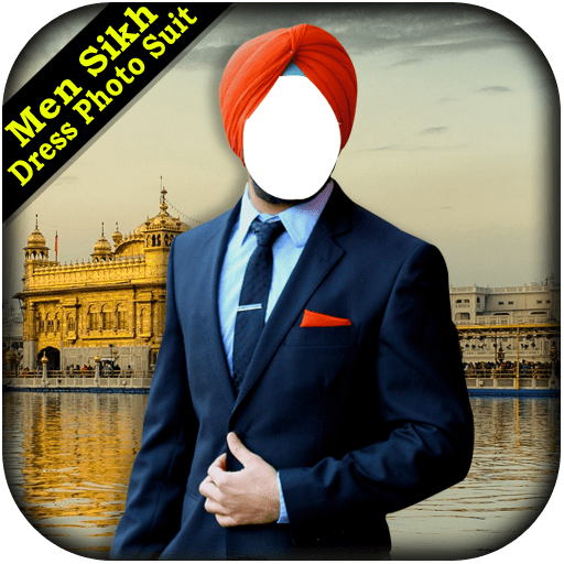 Men Sikh Dress Photo Suit