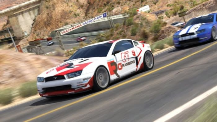 TrackMania?? Canyon