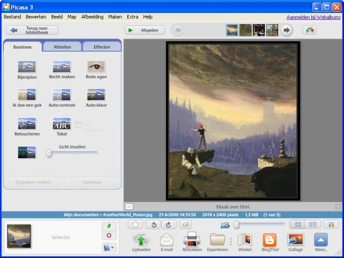 how to download album from picasa
