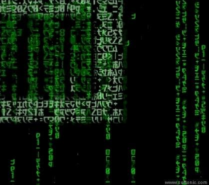 Official Matrix Screen Saver