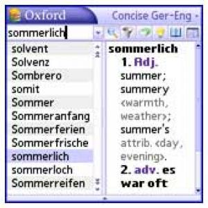 Concise Oxford-Duden German Dictionary