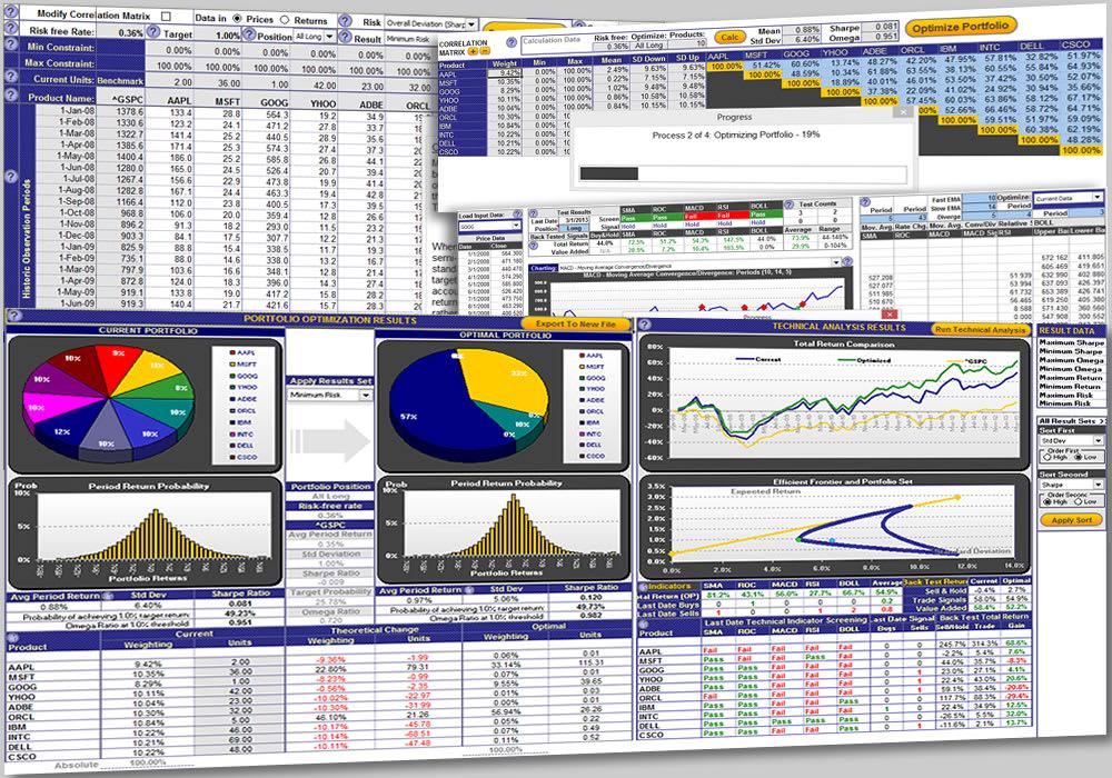 Excel Portfolio Optimization