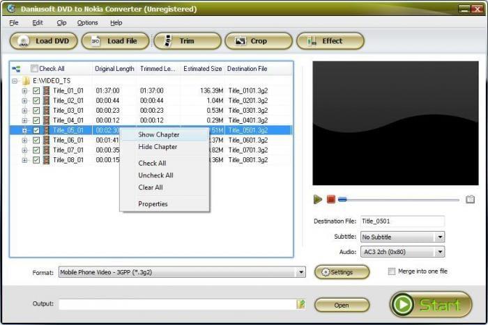 Daniusoft DVD to Nokia Suite