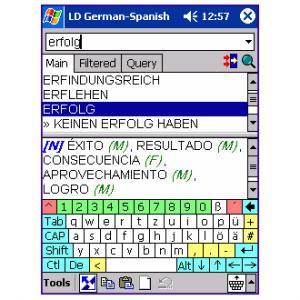 LingvoSoft Dictionary Deutsch-Spanisch