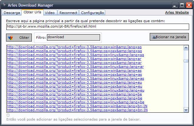 Arles Download Manager