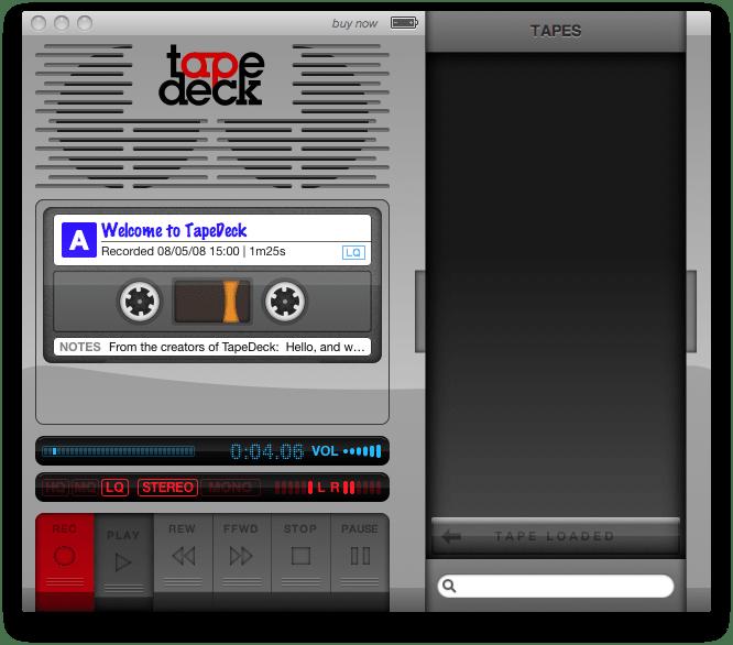 TapeDeck