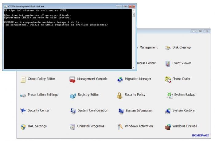 Windows Access Panel
