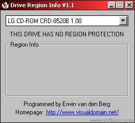 DVD Drive Region Info