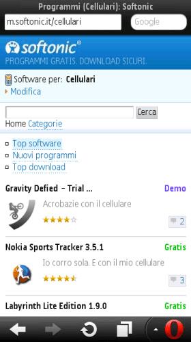 Opera Mini for Symbian - Download