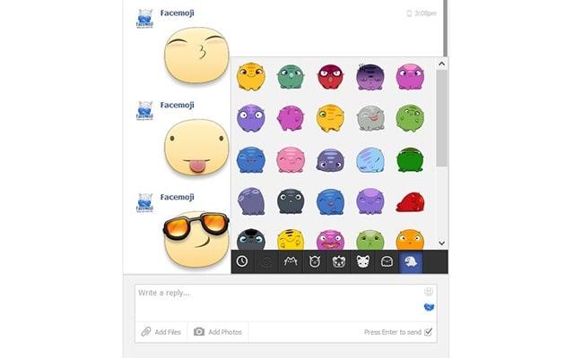 Facemoji para Chrome
