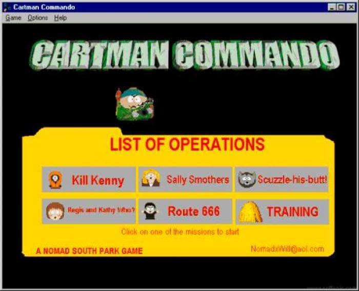 Cartman Commando (South Park)