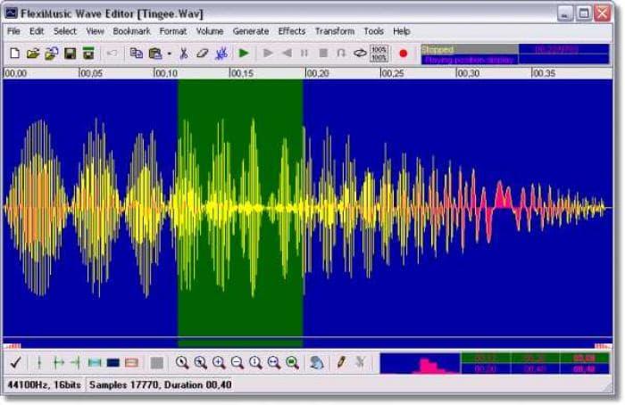 Fleximusic Wave Editor