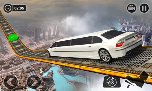 Impossible Limo Driving Simulator Tracks