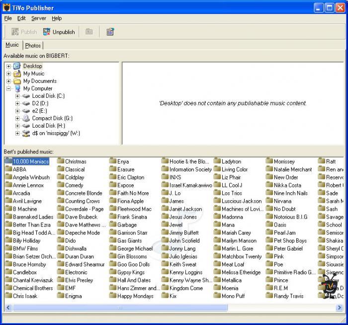 TiVo Desktop