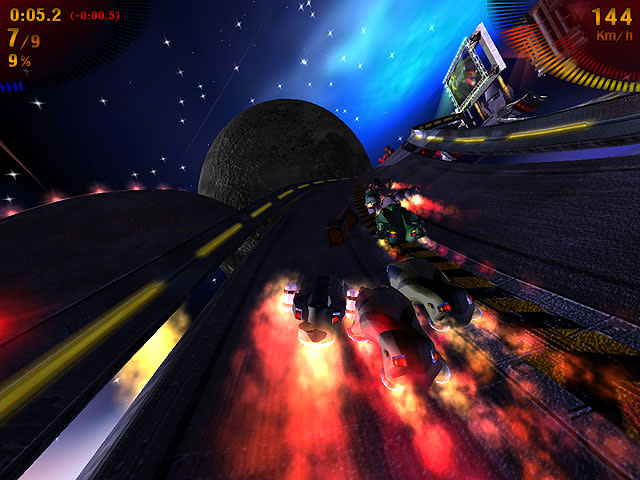 Space Extreme Racers