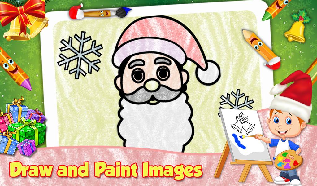 Christmas Kids Coloring Book
