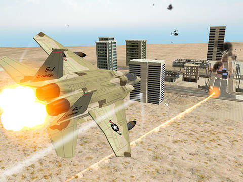 Air Supremacy Fighter Jet Combat