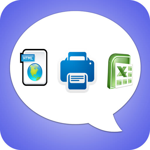 Export Messages - Save Print Backup Recover SMS