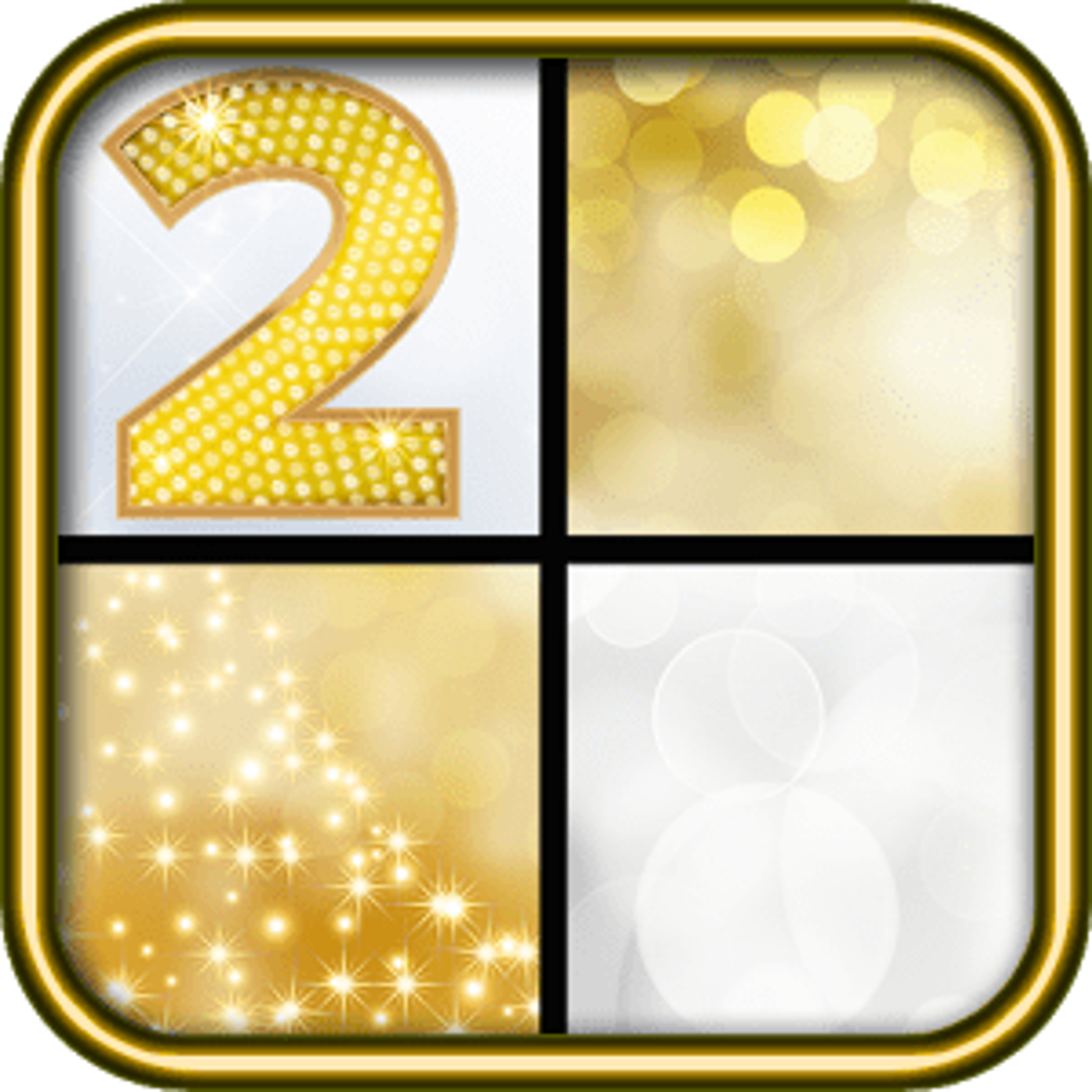 Piano Gold Tiles 2