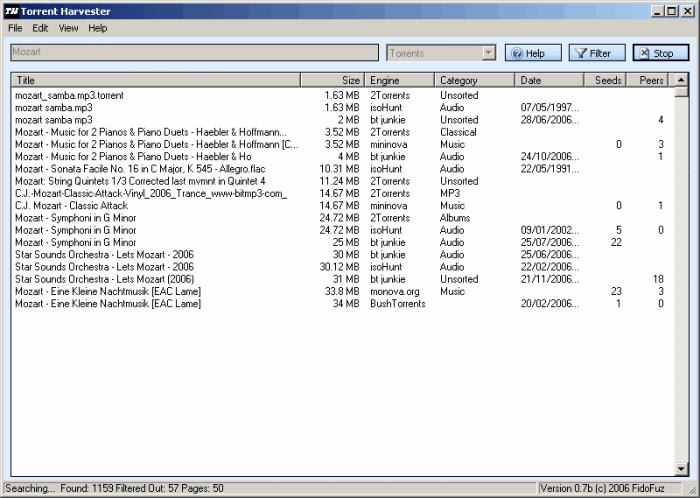 Torrent Harvester - Download