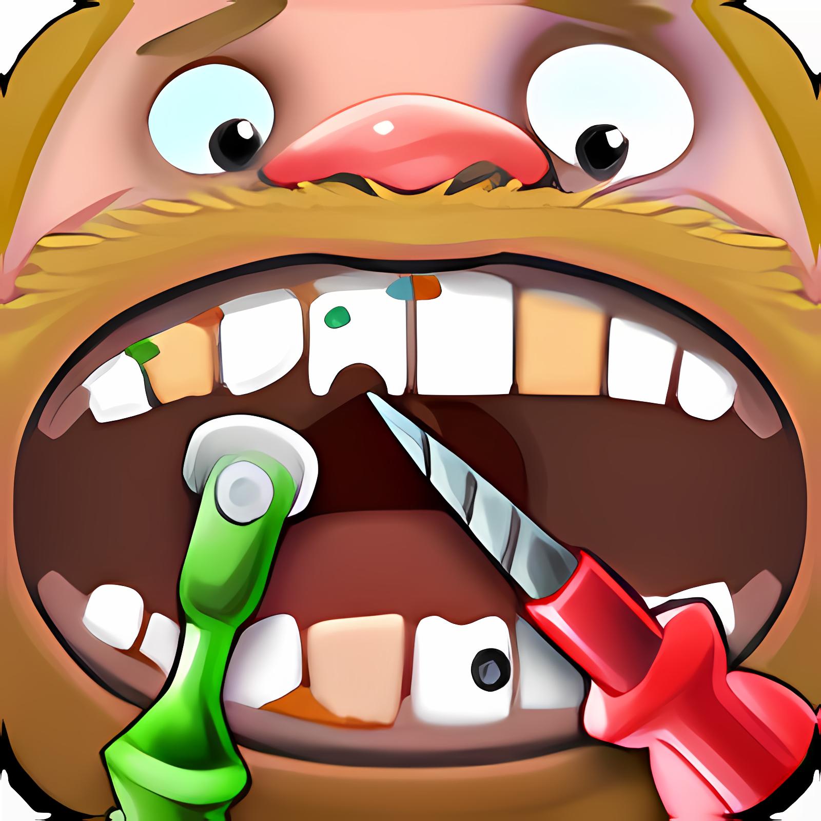 Verrückter Zahnarzt