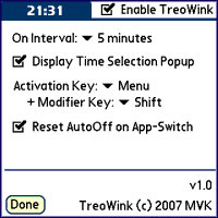 TreoWink