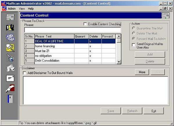 Visnetic MailScan for MDaemon