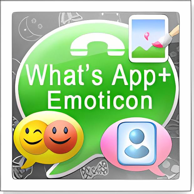 What's App+ Emoticon