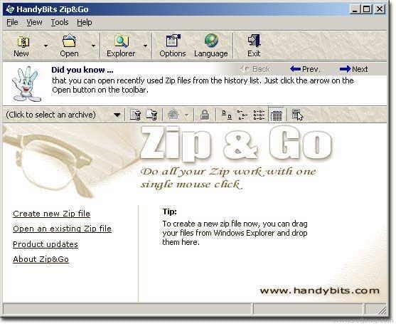 HandyBits Zip & Go