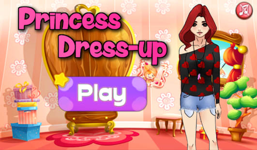 Dress Up Princess Girl Fashion