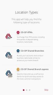 CO-OP ATM / Shared Branch Locator