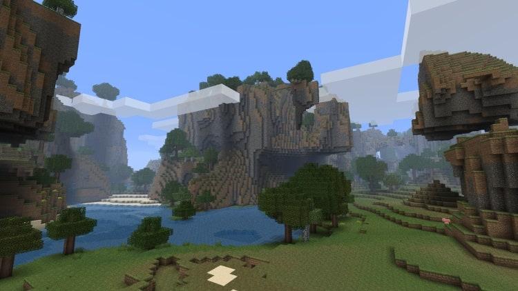Minecraft Landschaften