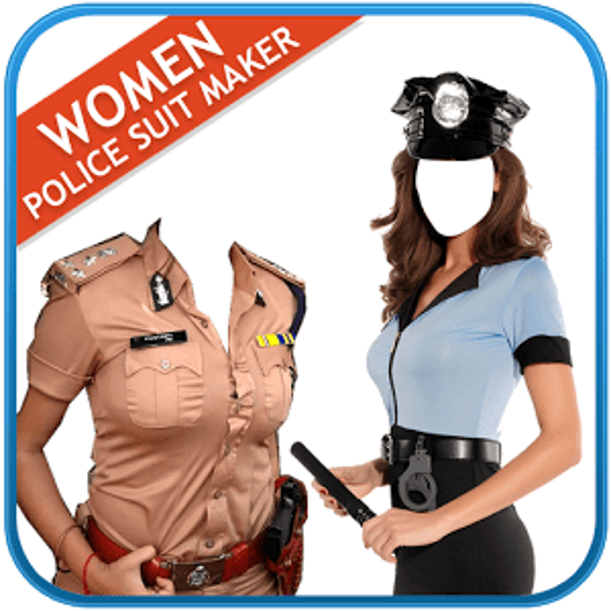 Women Police Suit Maker New