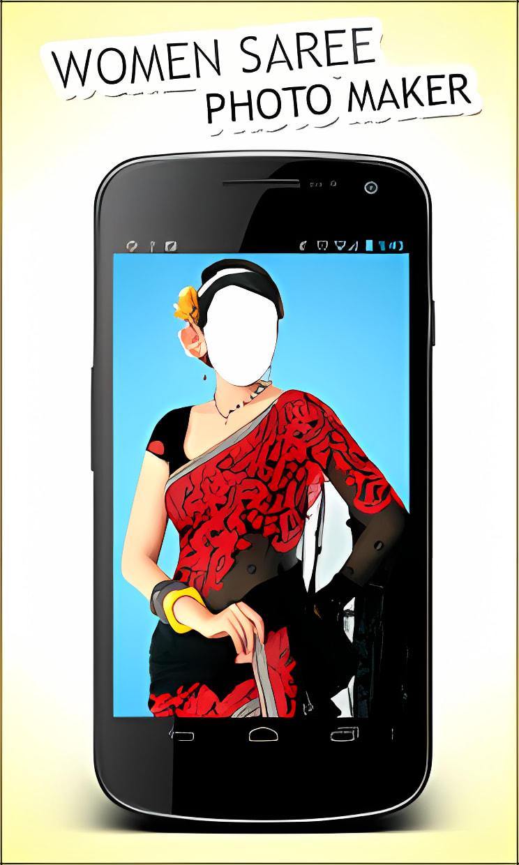 Women Saree Photo Maker New