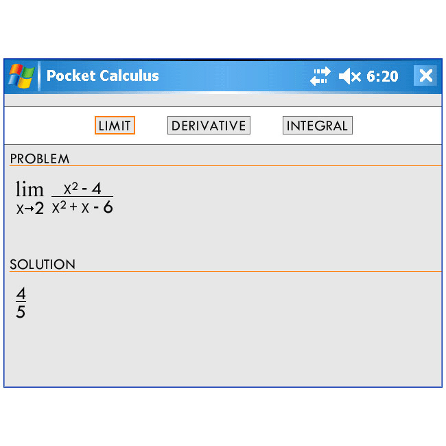 Pocket Calculus