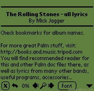 All Stones Lyrics
