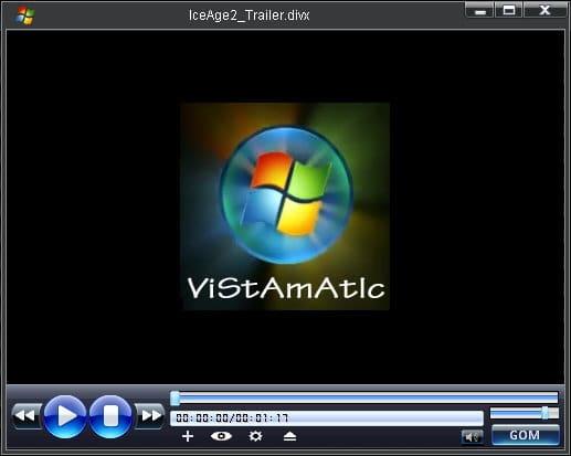 Vistamatic GOM Player Skin
