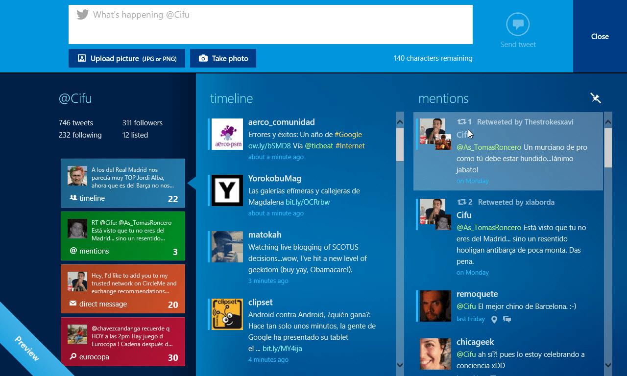 MetroTwit para Windows 10