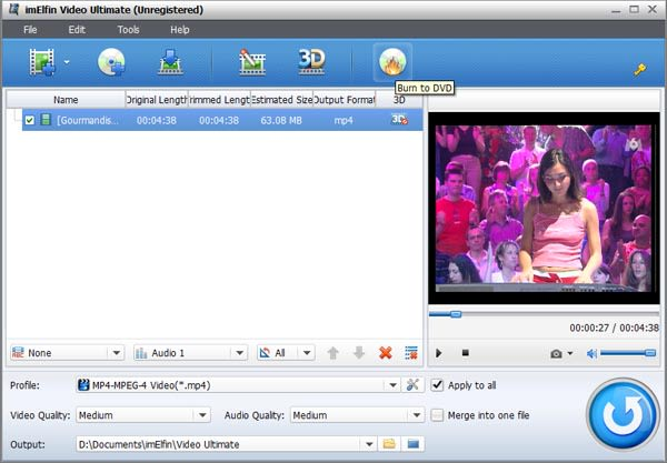 ImElfin Video Converter Ultimate