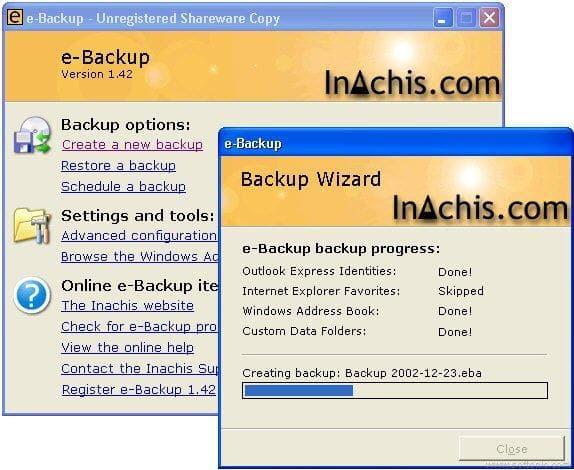 e-Backup