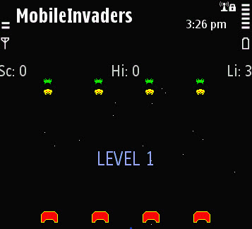 Mobile Invaders