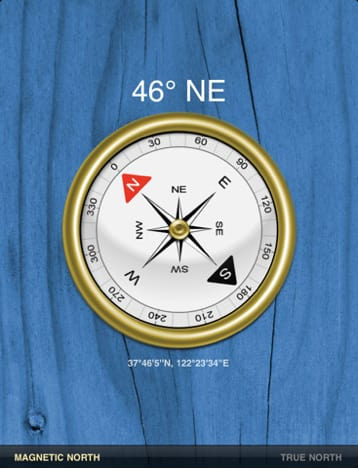 Compass for iPad