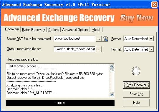 Advanced Exchange Recovery
